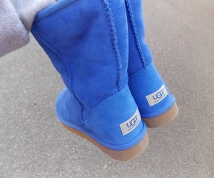 ugg, blue, and shoes image