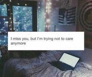 quotes, sad, and miss image
