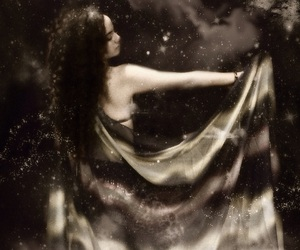bellydancer, stars, and universe image
