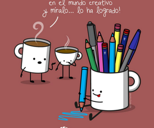 blanco, cup, and pen image