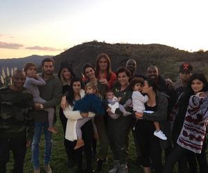 family, kylie jenner, and kim kardashian image