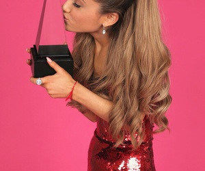 ariana grande, awards, and pink image