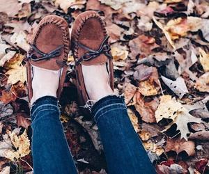 fall, girl, and girly image