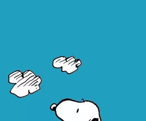snoopy, cartoon, and dog image