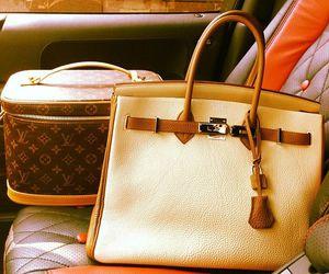 hermes, bag, and handbag image