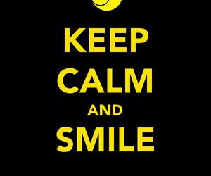keep calm, photography, and smile image