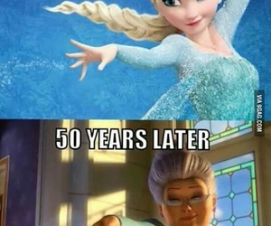 frozen, elsa, and funny image