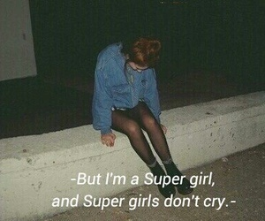 cry, grunge, and sad image