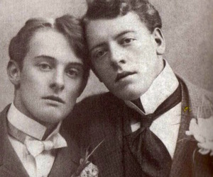 bosie and black and white image