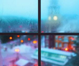 winter, window, and light image