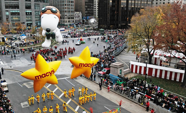 thanksgiving day, macys day parade, and thanksgiving day parade image