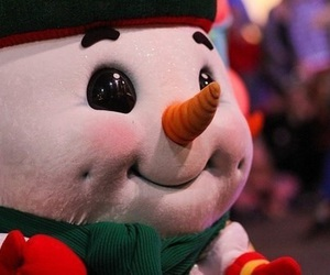 snowman, winter, and christmas image