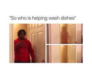 funny, lol, and dishes image
