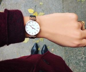 burgundy, girls, and luxury image