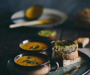 food, vintage, and soup image