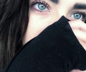 girl, eyes, and grunge image