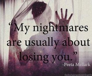 nightmare, quote, and peeta image