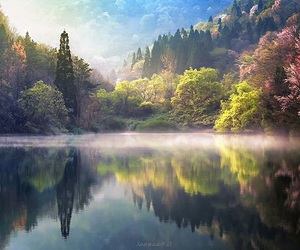 korean, landscapes, and south image
