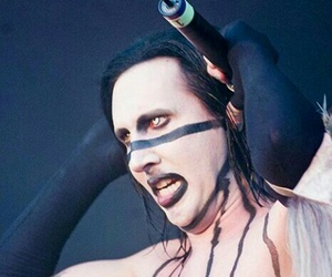 Marilyn Manson, metal, and love image
