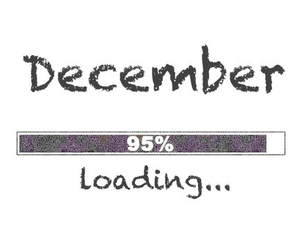 december, loading, and christmas image