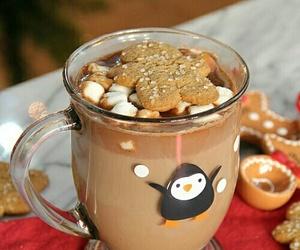 chocolate, christmas tree, and Cookies image