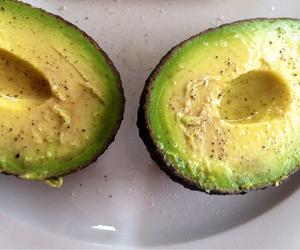 avocado, food, and delicious image