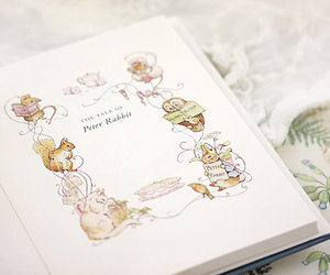 book, Peter Rabbit, and cute image