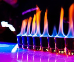 fire, drink, and shot image
