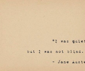 quotes, jane austen, and quiet image