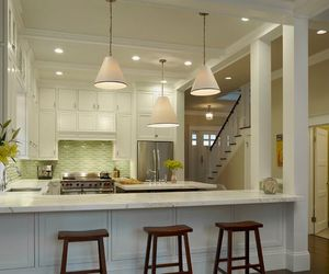 home ideas, kitchen, and white image