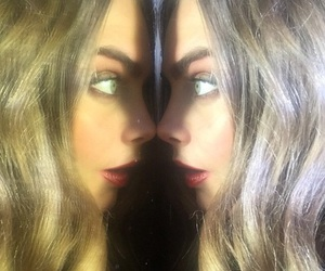 cara delevingne, model, and mirror image