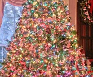 christmas, christmas tree, and new year image