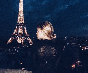 paris, gigi hadid, and night image
