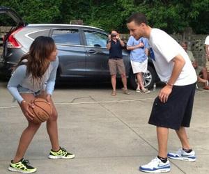 Basketball and love image