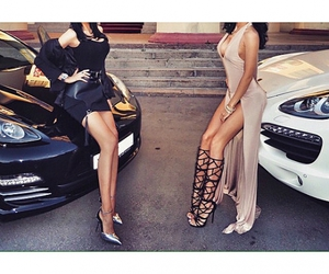 car, fashion, and dress image