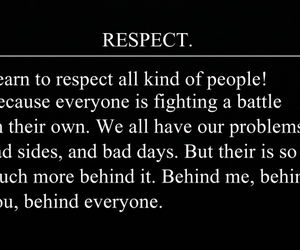 battle, quote, and respect image
