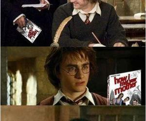 harry potter, funny, and how i met your mother image