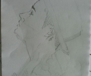 draw, justinbieber, and pencil image
