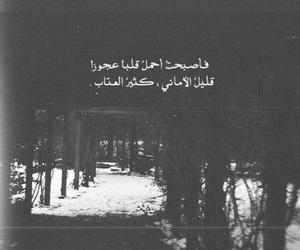 كلمات, ﻋﺮﺑﻲ, and قليل الاماني كثير العتاب image