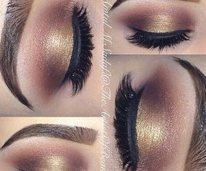 beautiful, glamourous, and makeup ideas image