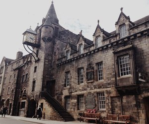 architecture, edinburgh, and scotland image