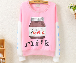 fashion, clothes, and nutella image