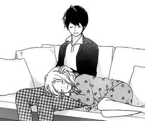 manga, love, and cute image