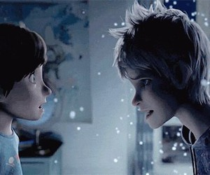 jack frost, rise of the guardians, and snow image