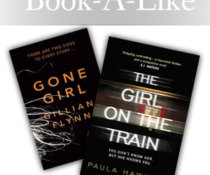 books, gone girl, and the girl on the train image