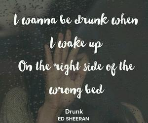 drunk, Lyrics, and music image