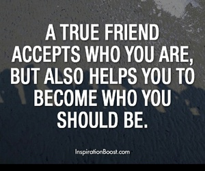 quote, friends, and friendship image