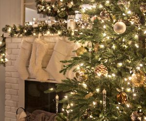 home, christmas, and decorating image