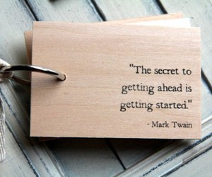 quote, secret, and mark twain image