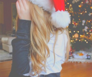 christmas, tumblr, and hair image